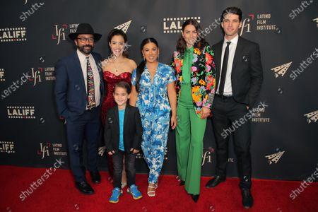 Luis David Ortiz, Lissette Feliciano, Lincoln Bonilla, Chrissie Fit, Lorenza Izzo and Bryan Craig