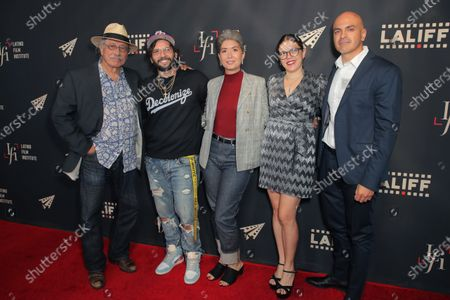 Edward James Olmos, Angel Manuel Soto, Kate Chamuris, Diana Cadavid and Rafael Agustin