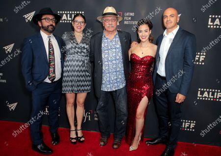 Luis David Ortiz, Diana Cadavid, Edward James Olmos, Lissette Feliciano and Rafael Agustin