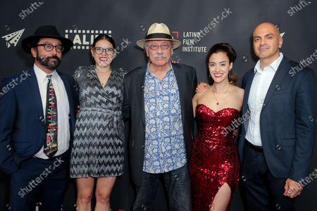 Angel Manuel Soto, Diana Cadavid, Edward James Olmos, Lissette Feliciano and Rafael Agustin