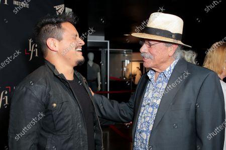 Stock Image of Jesse Garcia and Edward James Olmos