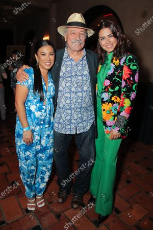 Chrissie Fit, Edward James Olmos and Lorenza Izzo