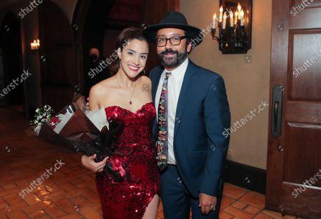 Lissette Feliciano and Luis David Ortiz