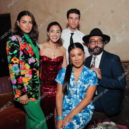 Stock Picture of Lorenza Izzo, Lissette Feliciano Bryan Craig, Chrissie Fit and Luis David Ortiz