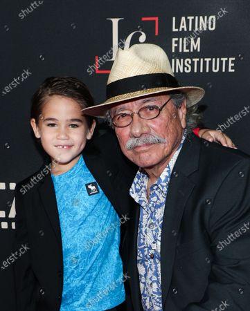 Lincoln Bonilla and Edward James Olmos