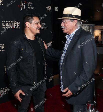 Jesse Garcia and Edward James Olmos