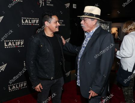 Stock Picture of Jesse Garcia and Edward James Olmos