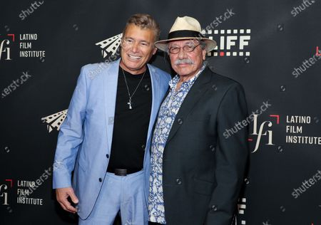 Stock Image of Steven Bauer and Edward James Olmos