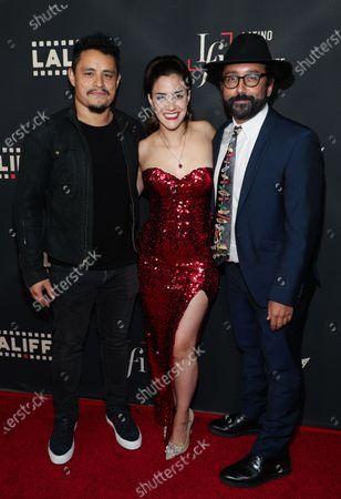 Jesse Garcia, Lissette Feliciano and David Luis Ortiz
