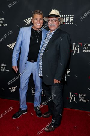 Stock Picture of Steven Bauer and Edward James Olmos