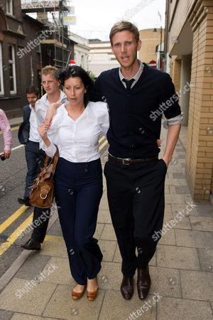 Calum Davenport and wife Zoe