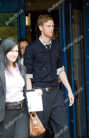 Stock Picture of Calum Davenport and wife Zoe