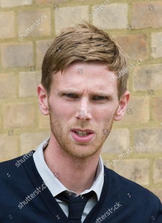 Editorial image of Footballer Calum Davenport attack trial at Luton Crown Court, London, - 01 Jul 2010