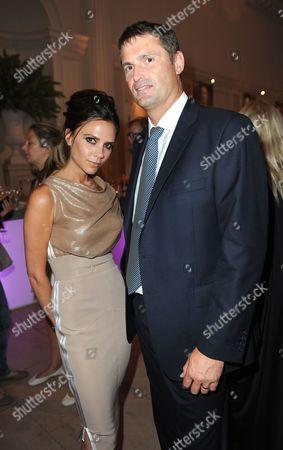 Victoria Beckham and Phil Popham