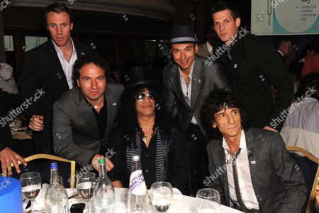 The Canadian Tenors with Slash and Ronnie Wood