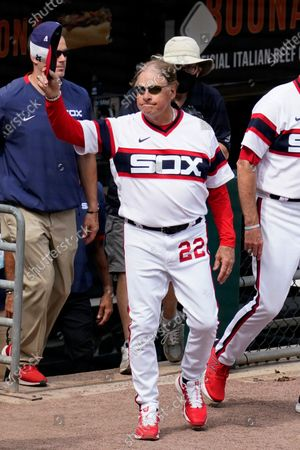 Chicago White Sox manager Tony La Russa waves to fans after his team defeated the Detroit Tigers in a baseball game in Chicago, . La Russa is second on the managerial career wins list with 2,764