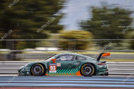 Stock Image of 93 Michael Fassbender (IRL), Jaxon Evans (NZL), Richard Lietz (AUT), Porsche 911 RSR - 19 PROTON COMPETITION, action