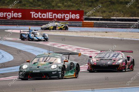 93 Michael Fassbender (IRL), Jaxon Evans (NZL), Richard Lietz (AUT), Porsche 911 RSR - 19 PROTON COMPETITION, action