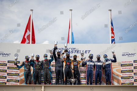 "04 Laurents Hörr (DEU), Jean-Philippe Dayraut (FRA), -, Duqueine M30 â€Â"" D08 - Nissan, 19 Nicolas Maulini (CHE), Matthew Bell (GBR), Niklas Kruetten (DEU), Ligier JS P320 - Nissan COOL RACING, 02 Wayne Boyd (GBR), Robert Wheldon (GBR), Edouard Cauhaupe (FRA), Ligier JS P320 - Nissan UNITED AUTOSPORTS, podium"