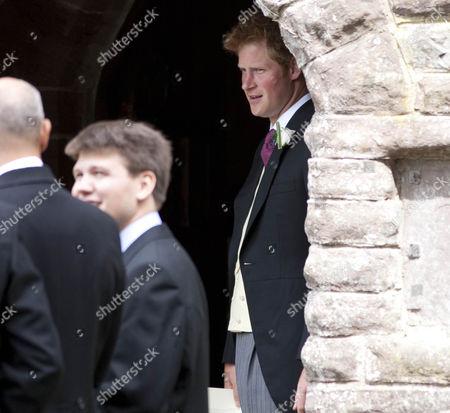 Editorial photo of The wedding of Mark Dyer and Amanda Kline, St Edmunds church, Crickhowell, Wales, Britain - 03 Jul 2010