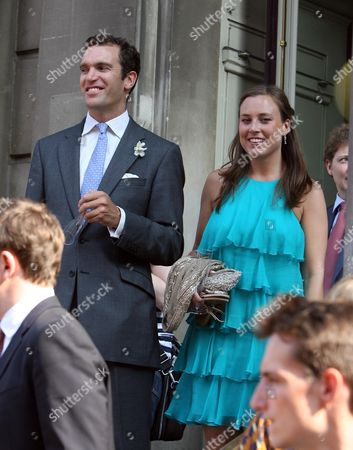 Stock Picture of Nicholas and Alice Van Cutsem