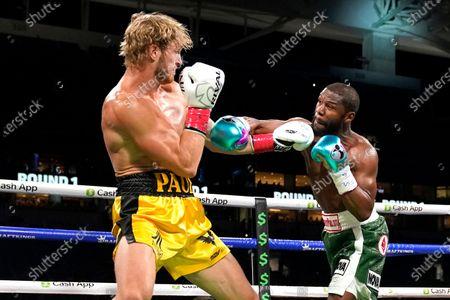 Floyd Mayweather v Logan Paul fight, Miami