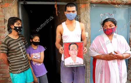 Editorial image of Families and children who lost earning member due to COVID-19 in second wave, Dadri, India - 06 Jun 2021