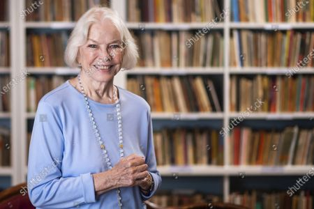 """Ellen Burstyn poses for a portrait in the Paul Newman Library of the Actors Studio in New York on . Burstyn stars as a woman forced into a retirement home in the film """"Queen Bees"""