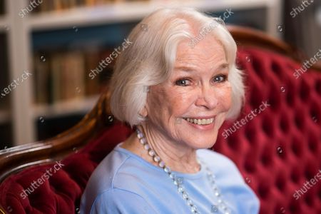 """Stock Picture of Ellen Burstyn poses for a portrait in the Paul Newman Library of the Actors Studio in New York on . Burstyn stars as a woman forced into a retirement home in the film """"Queen Bees"""