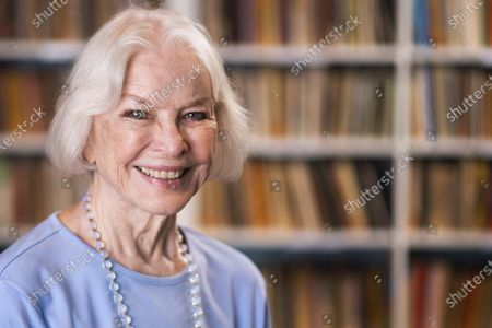 """Stock Photo of Ellen Burstyn poses for a portrait in the Paul Newman Library of the Actors Studio in New York on . Burstyn stars as a woman forced into a retirement home in the film """"Queen Bees"""