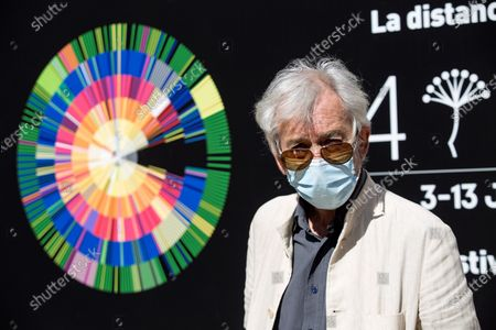 Jose Sacristan poses for the photographers during the presentation of the film 'Esa pareja feliz' (That happy couple) at the 24th Malaga Film Festival in Malaga, Spain, 07 June 2021. The festival runs until 13 June 2021.
