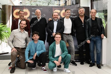 Editorial image of 'Comedians' film photocall, Rome, Italy - 07 Jun 2021