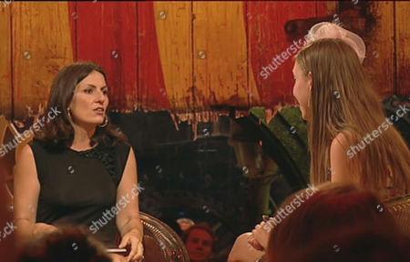 Davina McCall and Sunshine Martyn