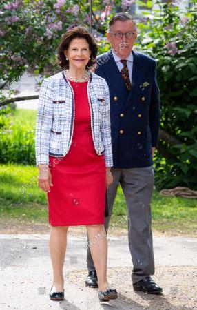 Queen Silvia visits music school Lilla Akademin, Vasastan