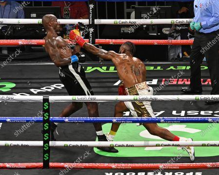 Editorial photo of Chad Johnson v Brian Maxwell fight, Hard Rock Stadium, Miami Gardens, Florida. USA - 06 Jun 2021