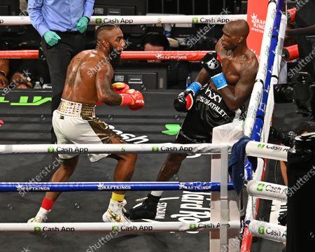 Editorial picture of Chad Johnson v Brian Maxwell fight, Hard Rock Stadium, Miami Gardens, Florida. USA - 06 Jun 2021