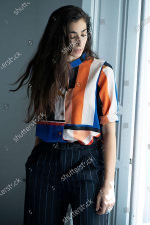 Editorial picture of Alba Flores portrait session, Madrid, Spain - 07 Jun 2021
