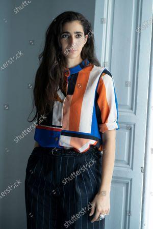 Stock Photo of The actress Alba Flores