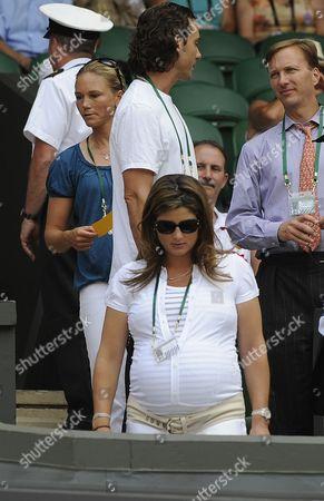 Roger Federer Wife Today Mirka Federer / Miroslava Vavrinec Robin Soderling V Roger Federer Wimbledon Tennis Championships 2009 29/06/09
