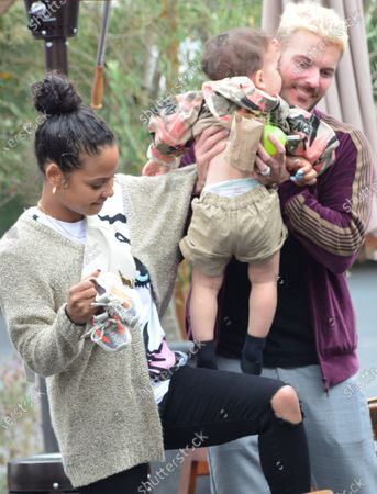 Editorial picture of Christina Milian out and about, Los Angeles, California, USA - 07 Jun 2021