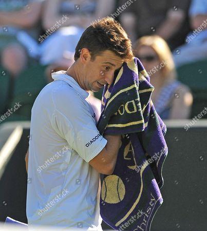 Alex Bogdanovic At Wimbledon Tennis Championships 2009. 23/06/09