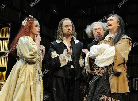 Editorial picture of 'La Bete' play, Comedy Theatre, London, Britain - 05 Jul 2010