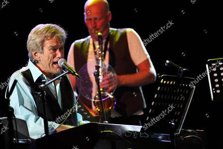 Editorial image of Bill Champlin in concert, America  - 02 Jul 2010