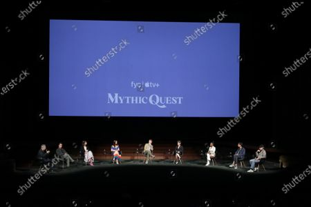 """Editorial picture of """"Mythic Quest"""", Apple's FYC Awards Summer Screening Series, The Ford Amphitheater, Los Angeles, CA, USA - 7 Jun 2021"""
