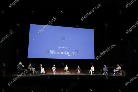 """Editorial photo of """"Mythic Quest"""", Apple's FYC Awards Summer Screening Series, The Ford Amphitheater, Los Angeles, CA, USA - 7 Jun 2021"""