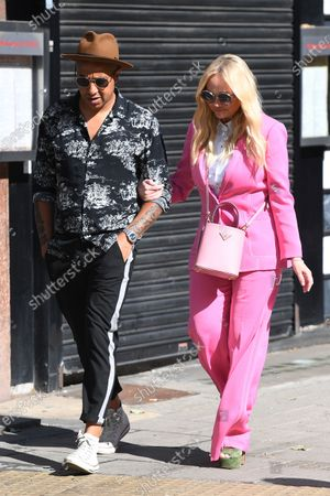 Jade Jones and Emma Bunton