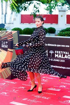 Nora Navas attends the Photocall of Festival de Malaga.