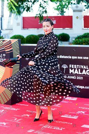 Stock Photo of Nora Navas attends the Photocall of Festival de Malaga.