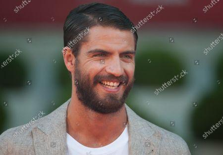Stock Image of Spanish actor Maxi Iglesias