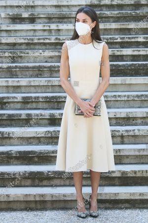 Queen Letizia attends 'Emilia Pardo Bazan' exhibition opening